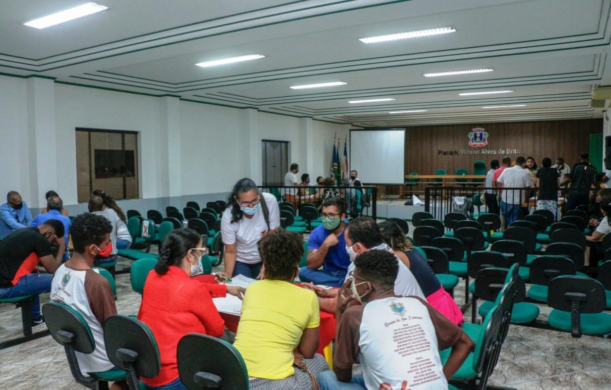 Participantes do Seminário de Análise SWOT de Alcobaça (BA).